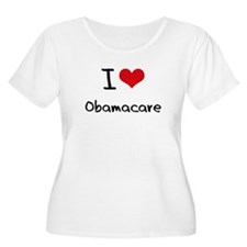 I Love Obamacare Plus Size T-Shirt