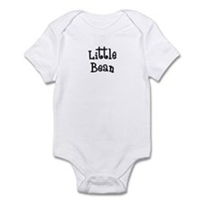 Little Bean-black Infant Bodysuit