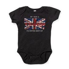 British Accent Baby Bodysuit