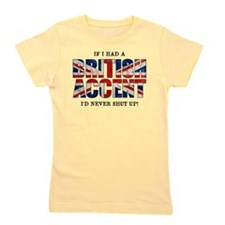 British Accent Girl's Tee