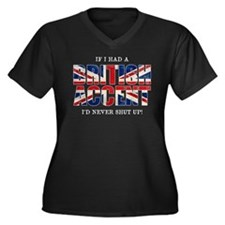 British Accent Plus Size T-Shirt