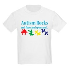 Autism Rocks T-Shirt