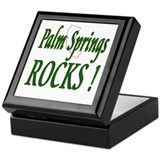 Palm Springs Rocks ! Keepsake Box