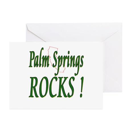 Palm Springs Rocks ! Greeting Cards (Pk of 10)