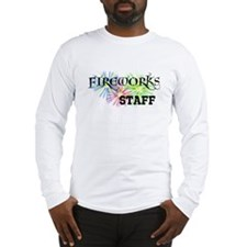 Fireworks Staff Long Sleeve T-Shirt