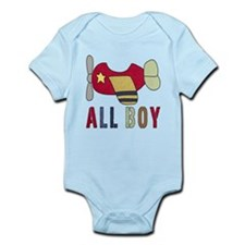 All Boy (2) Airplane Body Suit
