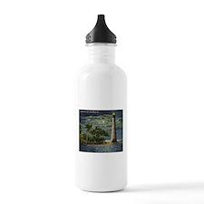 Cape Florida Light House, Miami Vintage Water Bott