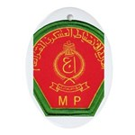 Iraqi Military Police Oval Ornament