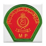 Iraqi Military Police Tile Coaster