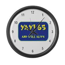 Yay! 65 Large Wall Clock