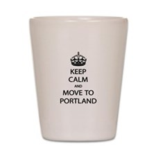 Move Portland Shot Glass