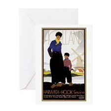 Vintage Holland Travel Greeting Card