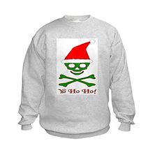 Skull & Crossbones Santa Sweatshirt