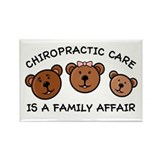 Chiro Bear Family Affair Rectangle Magnet