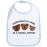 Chiro Bear Family Affair Bib
