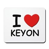 I love Keyon Mousepad