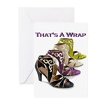 That's A Wrap Greeting Cards (Pk of 10)