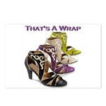 That's A Wrap Postcards (Package of 8)