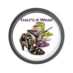 That's A Wrap Wall Clock
