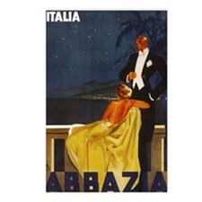 Abbazia - Venice Italy Travel Postcards (Package o