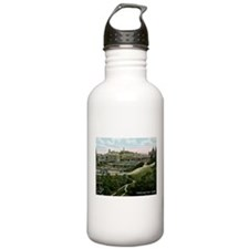 Edinburgh, Scotland, Vintage Water Bottle