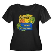 Florida Gator Bait Plus Size T-Shirt