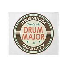 Drum Major vintage Throw Blanket