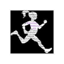 Running Without Ed Logo Sticker