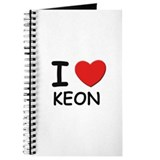 I love Keon Journal