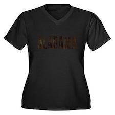 Alabama Coffee and Stars Plus Size T-Shirt
