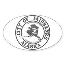 Vintage Fairbanks Alaska Decal