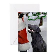 Labrador Retriever (pk Of 10) Greeting Cards