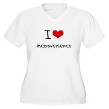 I Love Inconvenience Plus Size T-Shirt