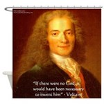 Voltaire Shower Curtain