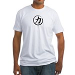 Kanji Symbol Strength Fitted T-Shirt