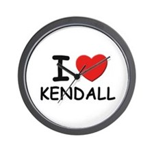 I love Kendall Wall Clock