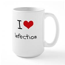 I Love Infection Mug