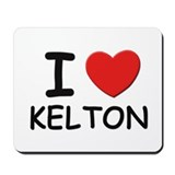 I love Kelton Mousepad