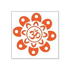 Flower Om Sticker