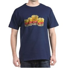 Movie Theater Popcorn Navy Blue T-Shirt