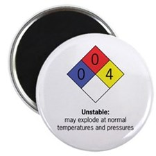 """Unstable"" 2.25"" Magnet (10 pack)"
