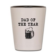 dad of the year Shot Glass