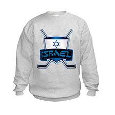 Isreal Ice Hockey Shield Sweatshirt