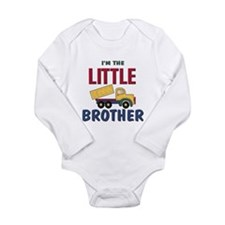 Litte Brother Dump Truck Baby Outfits