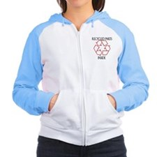 Recycled Parts Inside Women's Raglan Hoodie