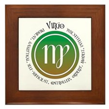 Virgo Framed Tile