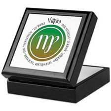 Virgo Keepsake Box