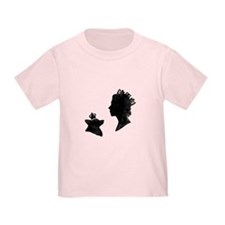 Queen and Corgi - Toddler Shirt