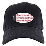 Ben Franklin Beer Quote.psd Baseball Hat
