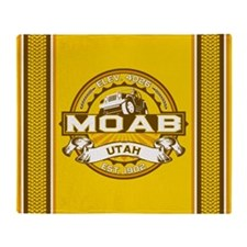 Moab Goldenrod Throw Blanket